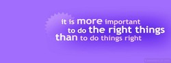it is more important 