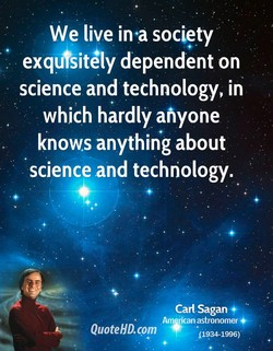 We live in•a society 