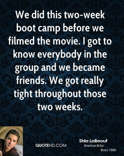 We did this two-week 