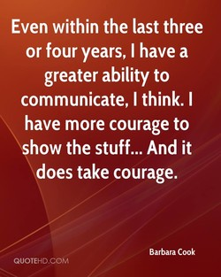 Even within the last three 
