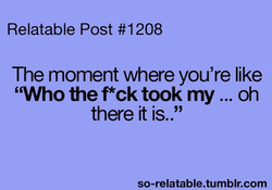 Relatable Post #1208 