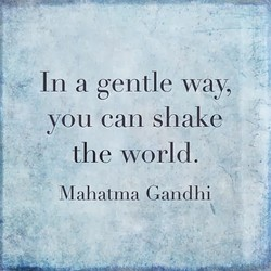In a gentle way, 