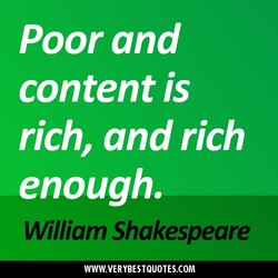 Poor and 
