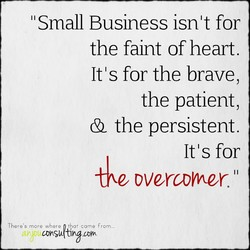 Small Business isnlt for 