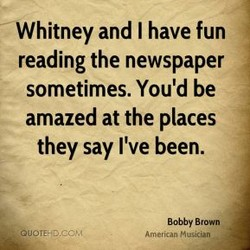 Whitney and I have fun 