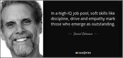 In a high-IQ job pool, soft skills like 