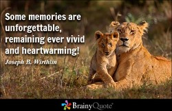 Some memories are 