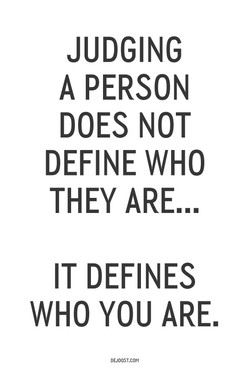 JUDGING 