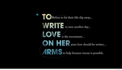 Refuse to let their life slip away... 