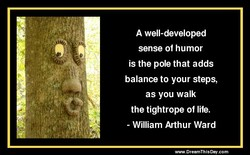 A well-developed 