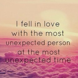 I fell in love 
