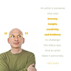 An artist is someone 
