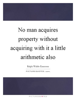 No man acquires 