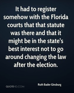It had to register 