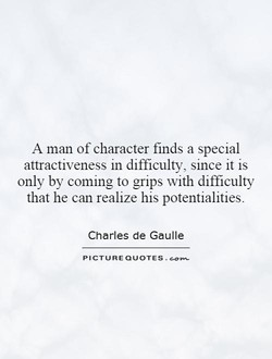 A man of character finds a special 