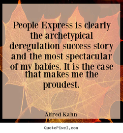 People Express is clearly 