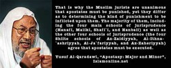 That is why the Muslim jurists are unanimous 