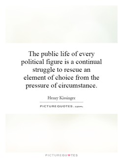 The public life of every 