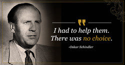 I had to help them. 