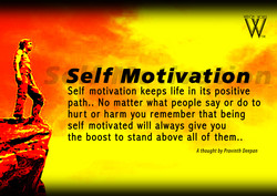 Self Motivation 