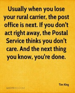Usually when you lose 