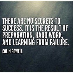 THERE ARE NO SECRETS TO 
