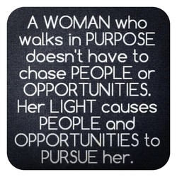 A WOMAN who 
