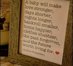 A baby will make 