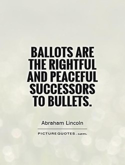 BALLOTS ARE 