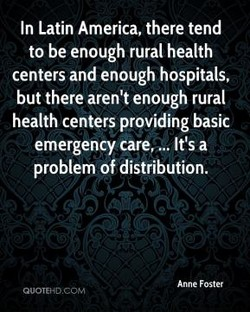 In Latin America, there tend 
