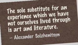 The sole substitute for an 