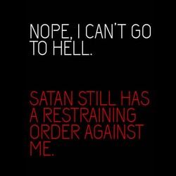 NOPE I CAN'T GO 