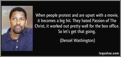 When people protest and are upset with a movie, 