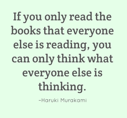 If you only read the 
