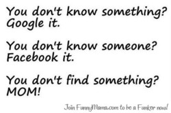 You don't know something? 