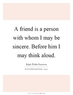 A friend is a person 