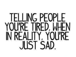 TELLING PEOPLE 