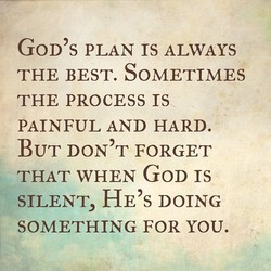 G0D's PLAN rs ALWAYS 