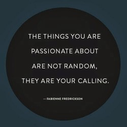 THE THINGS YOU ARE 