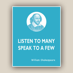 LISTEN TO MANY 