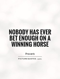 NOBODY HAS EVER 