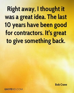 Right away, I thought it 