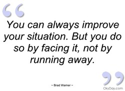 You can always improve 