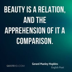 BEAUTY IS A RELATION, 