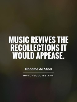 MUSIC REVIVES THE 