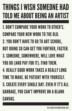 THINGS I WISH SOMEONE HAD 