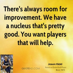 There's always room for 