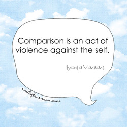 Comparison is an act of 
