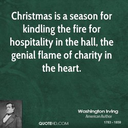 Christmas is a season for 