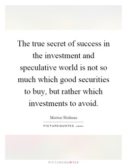 The true secret of success m 